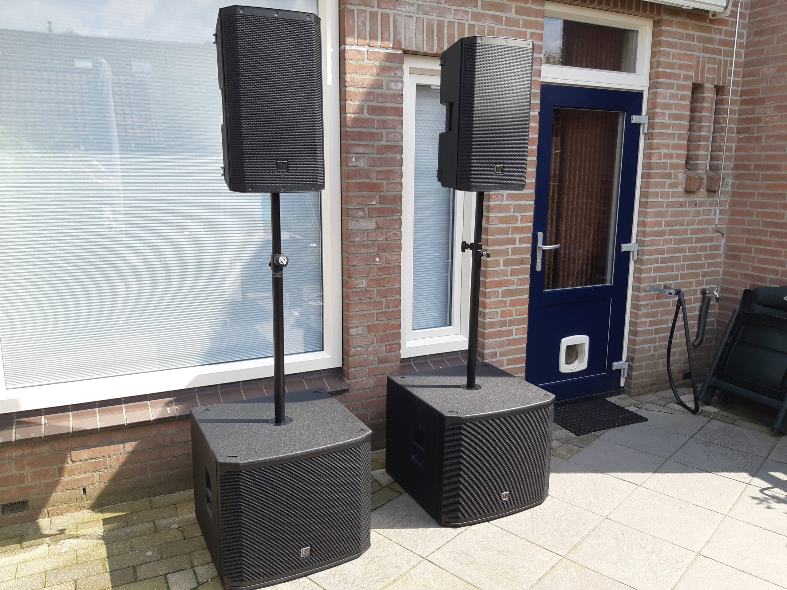 Geluidsinstallatie huren Zwolle