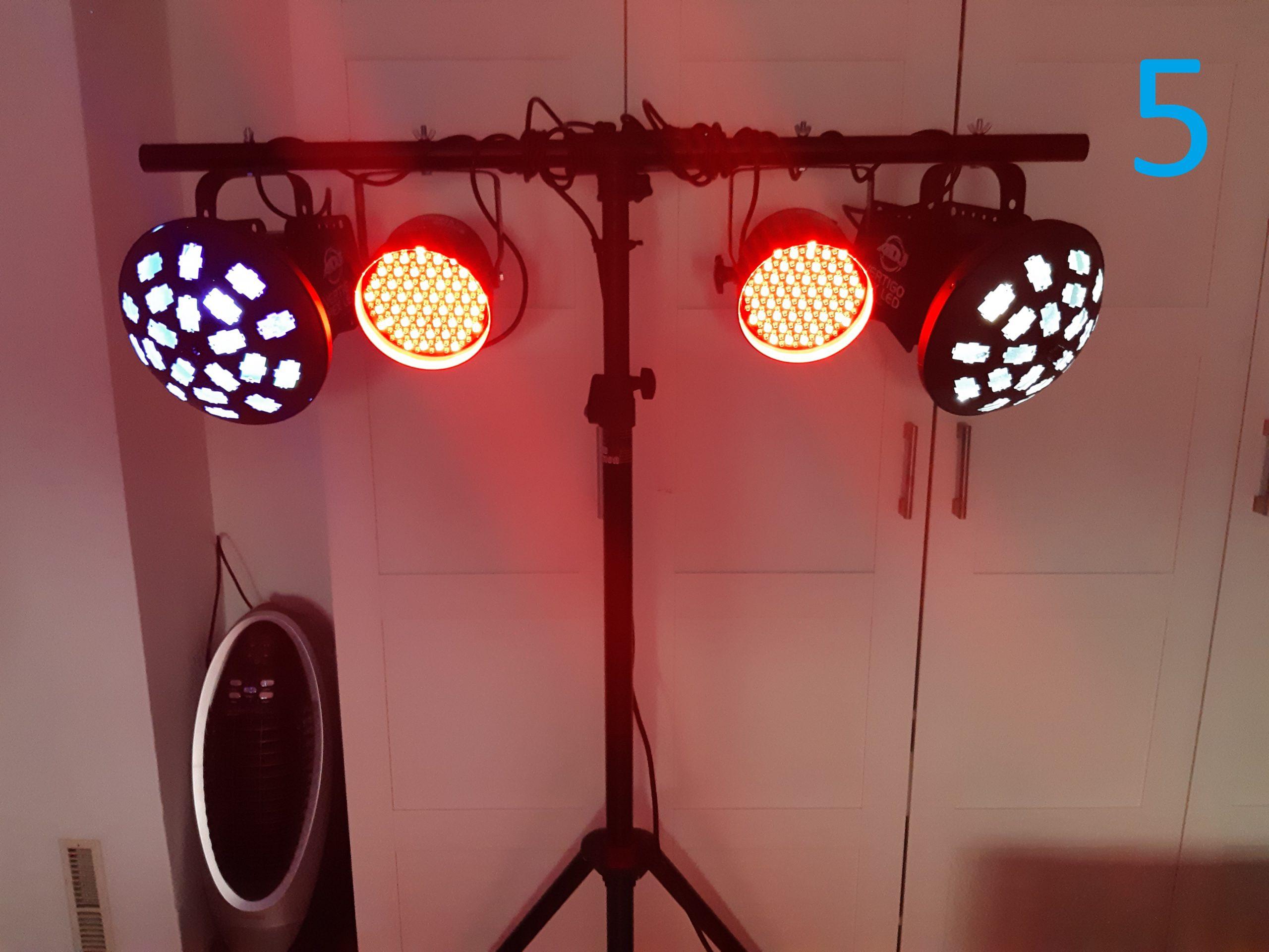 Lichteffect huren Heino
